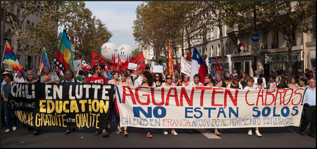 Mass Anti-Capitalist Protests Rock Chile - Stop the Wars ...